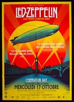 Manifesto LED Zeppelin Live From London Celebration Día Concert Arena Cine M138