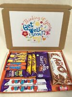 Personalised Thinking Of You Get Well Soon Chocolates Hamper Box Gift Present 💓