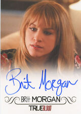 True Blood Premiere Edition Autograph Card Brit Morgan as Debbie Pelt Full Bleed
