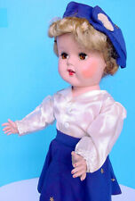 """1950s Artisan Miss Gadabout 20"""" Blonde Roller Skater Doll in Michele Star Outfit"""