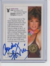 CANDY LOVING 1992 Star Pics PLAYBOY signed CERTIFIED card auto AUTOGRAPH rare