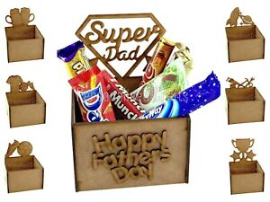 Fathers Day Gift Hamper Chocolate Treat Box Holds Chocolate & Sweets