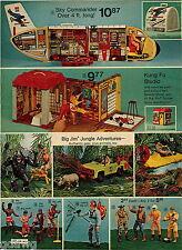 1974 ADVERT Big Jim Toy Jungle Adventures Jeff Josh Kung Fu Studio