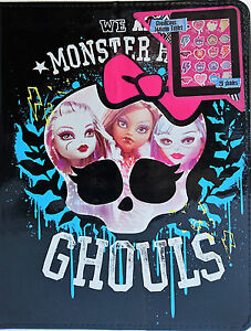 Monster High | Ghoulicious Makeup Tablet | Eye Shadows & Lip Gloss | 20 Shades