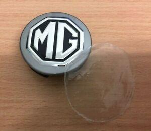 MG3 MG6  ALLOY WHEEL CENTRE CAP 56mm BLACK & SILVER New Genuine MG SAIC