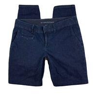 Banana Republic Women 27 Skinny Pants Jeans Denim Dark Wash Mid Rise Blue
