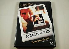 Memento DVD Guy Pearce, Carrie-Anne Moss, Joe Pantoliano, Mark Boone Junior
