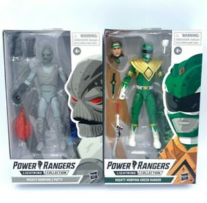 Hasbro Power Rangers Lighting Collection Mighty Morphin Green Ranger & Z Putty