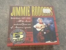 Jimmie Rodgers Recordings 1927-1933 [Box Set] Country CD Sealed 5 Discs Freepost