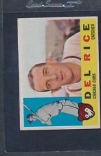 1960 Topps #248 Del Rice Cubs VG/EX *1157