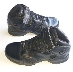 Men's REEBOK THE PUMP Vintage Iverson ACR Black Leather High Tops US 9.5 UK 8.5