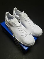 Adidas Originals Superstar Bounce Primeknit men's shoes NEW white S82240 Sz 11