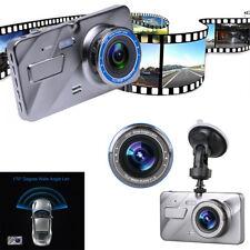 4'' HD LCD 1080P Dual Lens Car DVR Dash Cam Video Recorder Night Vision G-sensor