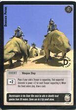 Star Wars Jedi Knights TCG Premiere #116 Dewback Patrol [R] SILVER