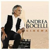 ANDREA BOCELLI Cinema CD BRAND NEW