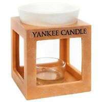 Yankee Candle Burner Rustic Modern Ceramic Terracotta Effect Surround Wax Melt