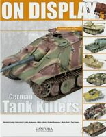 On Display 5 German Tank Killers - Jagdpanzer Hetzer Jagdpanther Jagdtiger NEU