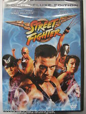 Streetfighter Deluxe Edition (DVD, 2 Discs 1994) NEW SEALED (Nordic Packaging)