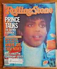 Prince Talks Rolling Stone Music Magazine #436 Sept 12, 1985