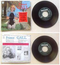 France Gall Disque Super 45T vinyl 4 titres Attends ou va t-en vintage