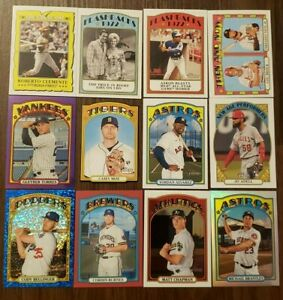 2021 Topps Heritage Inserts / Chrome / Refractors / Parallels / SPs You Pick