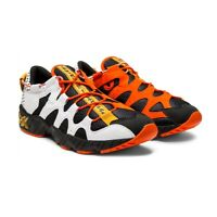 NEW Asics Tiger Gel-Mai Black/Orange/White Running Tennis Shoes Men's Size 12