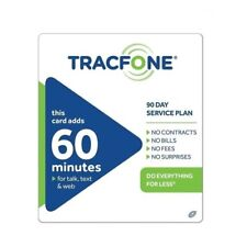 TracFone $19.99 Refill -- 60 Minutes / 90 Days. Loaded directly. Sale!