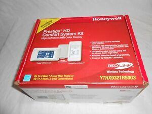 Honeywell YTHX9321R5003 Prestige HD Comfort System Kit-New, Never Used