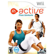 Active More Workouts (Wii, 2009, *Game Only*) Usually ships within 12 hours!!!