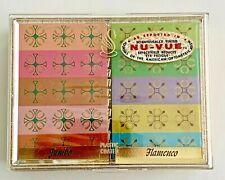 Vintage RETRO Playing Cards Stancraft Bridge / Double Deck Cards Flamenco -jumbo