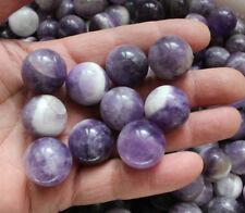 1 x Amethyst Healing stone quartz healing SPHERE BALL 15-20MM REIKI ENERGY