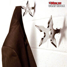 1Piece Ninja Throwing Death Star Coat Hook / Ninja Star Coat Hook