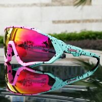 5 lens cycling sunglasses Polarized sports cycling glasses goggles bicycle