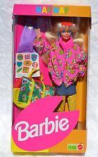 NAF NAF Travel Barbie doll European 1993 SuperStar face NRFB 10997