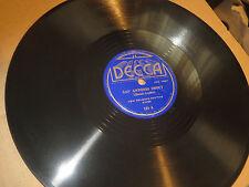 78RPM Decca 161 New Orleans Rhythm, San Antonio Shout / Tin Roof Blues  beauty E