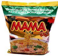 【Pack of 30】 MAMA Brand Instant Ramen Noodles Artificial Pork Flavor 2.12oz*30pk