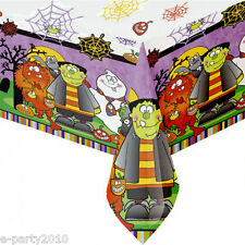 HALLOWEEN Little Monsters PLASTIC TABLE COVER ~ Birthday Party Supplies Decorate