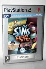 THE SIMS FUORI TUTTI PLATINUM GIOCO USATO OTTIMO SONY PS2 EDIZIONE ITALIANA GS1
