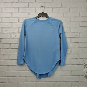 $40 UA Under Armour Open Back Steel Blue Long Sleeve Top Women's Size Small S