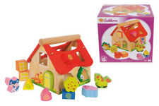Eichhorn 100002098 - Holz Steckhaus 15-teilig