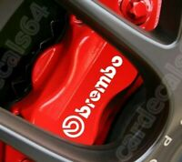 4 Pegatinas Brembo sticker brake caliper calcomania aufkleber pinzas freno 8 cm