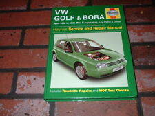 VOLKSWAGEN GOLF & BORA HAYNES MANUAL. APRIL 1998 TO 2000. R TO X REG.
