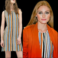ZARA Cotton Knit Dress Round Neck Olivia*Palermo Woman Authentic Small 7995/004