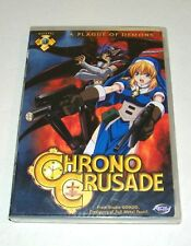 Chrono Crusade Gospel 1 - A PLAGUE OF DEMONS Anime (DVD 2004) New Factory Sealed