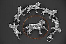 Bracelet Chien ROTTWEILER - Bracelet ROTTWEILER DOG - Argent Massif 925/1000