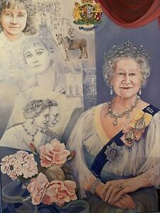 Falcon HM Queen Elizabeth The Queen Mother 1000 Piece Complete Jigsaw Puzzle