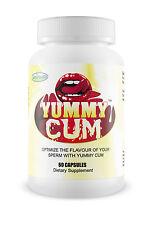 YUMMY CUM Improve Sperm Semen Ejaculation Sexual Enhancement Blowjob FREE SHIP