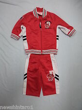 #FF1.  ST GEORGE ILLAWARRA BABY OR DOLL   RUGBY LEAGUE  TOP & PANTS