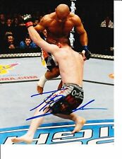 UFC STAR THIAGO ALVES SIGNED TAKE DOWN 8X10
