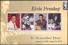 Grenada Grenadines 2007 Elvis Presley/Music/Cinema/People/Guitar 4v m/s (n40890)